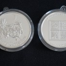 """""""Holiday Special"""" 1 ounce HW Minting Company .999 Fine Silver Ornament Round ~Christmas Reindeer~"""