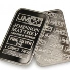 1 ounce Johnson Matthey .999 Fine Silver Bullion Bar