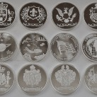 14 ounces HW Minting Company .999 Fine Silver Rounds ~All Designs